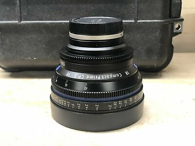 Zeiss Compact Prime CP.2 18mm T/3.6 3.6 T* (Feet) Lens EF Mount