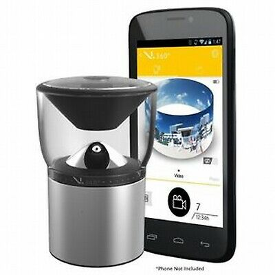 VSN Mobil 360 Degree Camera V.360° HD Camera Extra Battery 64GB Micro SD Card