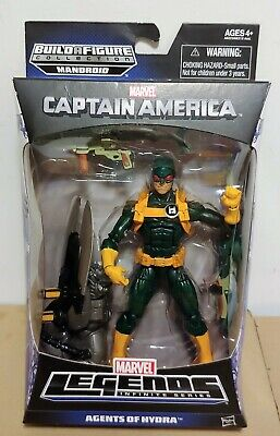 Marvel Legends Agents Of Hydra Soldier - Mandroid Series Captain America Hasbro