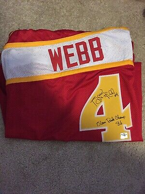 45bdf78bd41 Anthony Spud Webb Signed Atlanta Hawks Jersey 86 Slam Dunk Champ Inscription  COA