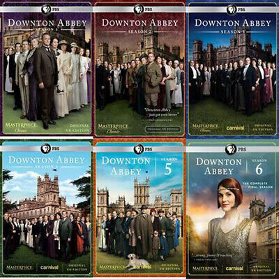 Downton Abbey Complete Series on DVD