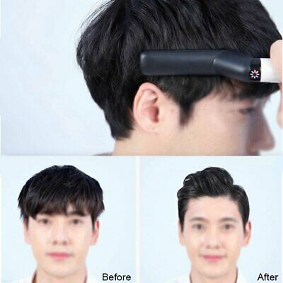 Quick Beard Straightener Multifunctional Hair Comb Curling Curler Show Cap Men~1