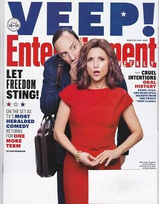 "Entertainment Weekly Magazine March 29, 2019 - ""Veep!""Julia Louise Dreyfus"