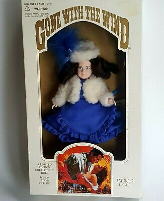 NIB Bonnie Blue Butler World Doll Limited Edition Gone with the Wind 1989 In Box