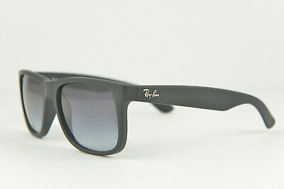8f16243870ca RAY BAN RB 4187 F Asian Fit Chris 622/8g Black Rubber Gradient New ...