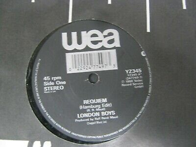 "Vinyl Record 7"" LONDON BOYS REQUIEM (H)"