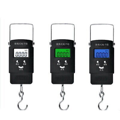Digital Hanging Scale 50KG 110lbs Travel Luggage Scale Fishing Scale