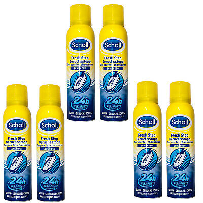 SCHOLL FUSSDEO FUSSSPRAY 3in1 Spray Schuh Geruchsstopp +