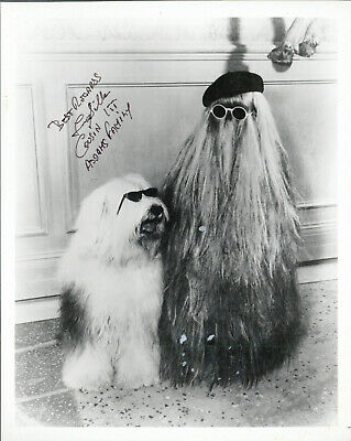 """FELIX SILLA as """"COUSIN ITT"""" SIGNED In-Person Photo, """"ADDAMS FAMILY"""""""
