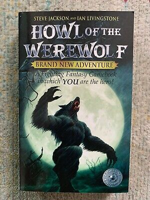 Howl of the Werewolf *MINT WIZARD BOOKS EDITION* Fighting Fantasy