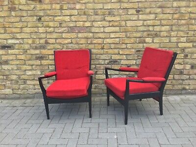 Parker knoll/Danish chairs/1960's armchairs/vintage chairs/1950's armchair