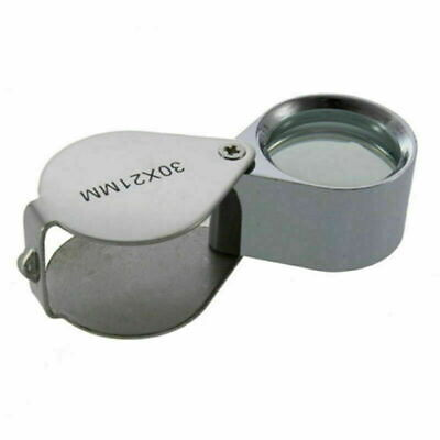 30x21mm Useful Jewellery Eye Lens Magnifier NEW Magnifying Glass Jewellers Loupe