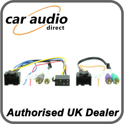 Connects2 CT20SA05 ISO Harness Adaptor for Saab 9.3/9.5 2006>
