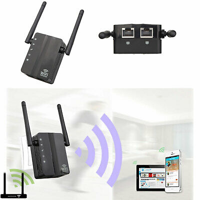 RIPETITORE SEGNALE WIFI HOTSPOT WIRELESS EXTENDER AMPLIFICATORE WIFI Enhancer