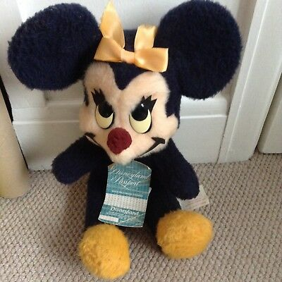 Vintage Walt Disney Minnie Mouse Soft Toy