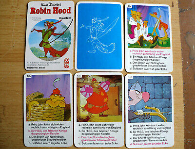 Robin Hood Quartett © Walt Disney Productions ca. 1973