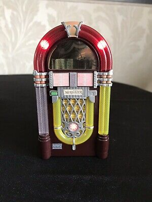 JUKEBOX MINIATURE WURLITZER USA  1015 - 1946 Only You By The platters Lights Up