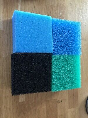 1 x Full Set Compact Foam Pads Filter / Sponge Fish Tank Replacement Juwel.