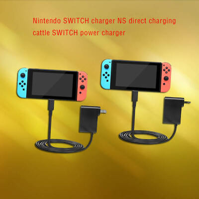 For Nintendo Switch Wall & Travel Charger US/EU Plug AC Adapter Power Supply
