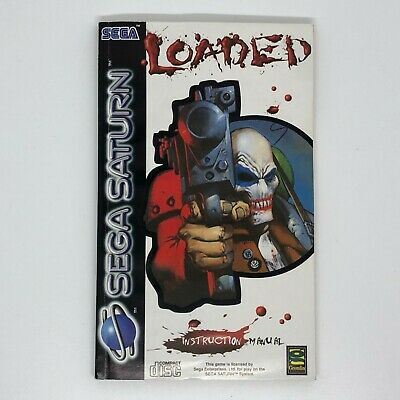 Loaded Sega Saturn *Manual Only*