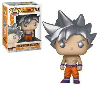 Dragon Ball Super - Goku (Ultra Instinct Form) - Funko Pop! Ani (2018, Toy NEUF)