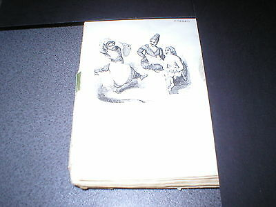 Arabian Nights - Antique Engraving from early 19th Century - Hunchback Tale