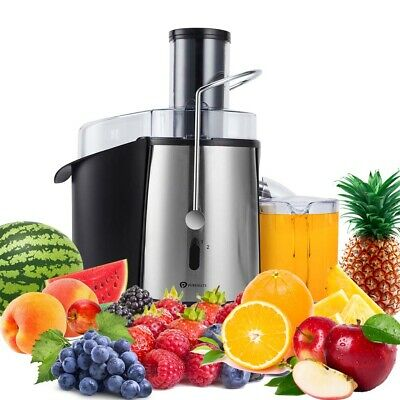 PureMate 1000W NaturoPure Whole Fruit Juicer Machine & Vegetable Juice Extractor