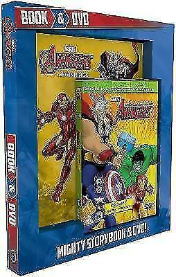 Marvel Avengers Book & DVD: Mighty Storybook & DVD! by Parragon Books Ltd...