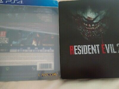Steelbook Steelcase - Resident Evil 2 Ps4 - No Game Included