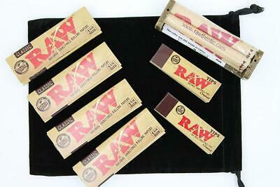 Raw 1 1/4 Deal - 1 Classic Rolling Papers, 79mm Machine and...