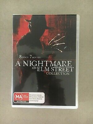 Nightmare On Elm Street - Collection (DVD, 2011, 8-Disc Set) NEW!!