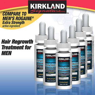 Kirkland Minoxidil 5% Extra Strength Men 6 Month Supply Hair Regrowth Exp 09/20