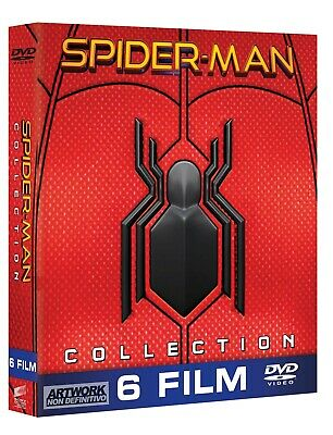 |120924| Spider-Man Collection (6 Dvd) - Spider-Man Homecoming (DVD Édition Ital