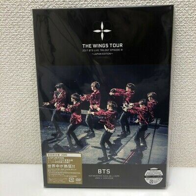BTS Bangtan Boys LIVE TRILOGY EPISODE III THE WINGS TOUR JAPAN First Ed 2 DVD