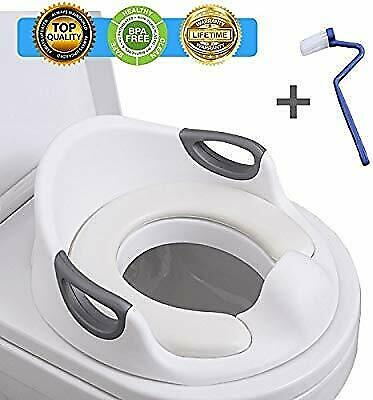 Seat Potty Training Toilet Kids Toddler Chair Step Ladder Child Stool Baby