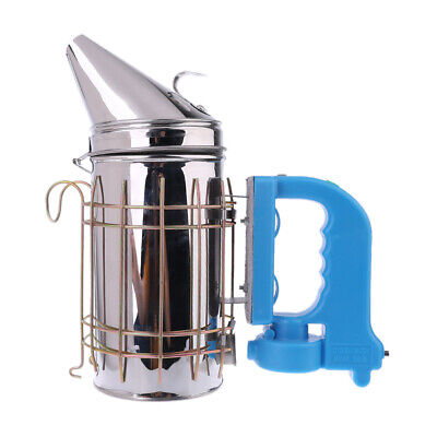 Rechargeable Electric Stainless Steel Beekeeping Smoker Bee Farm Smoke Treatment