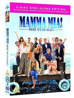 Pink Mama Mia 2 Hit Film Here We Go Again DVD Box Set Second Movie Sing Along UK