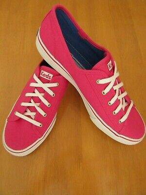 Keds Hot Pink Double Up Casual Canvas Shoes - Size 7.5 - Worn for 10 Mins!