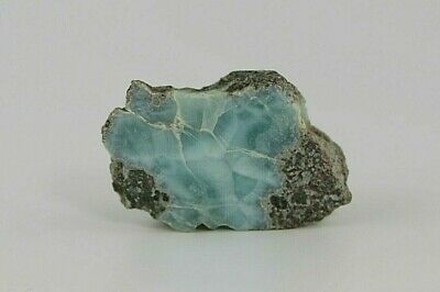 54g Larimar Rock- Raw, Rough Natural, Precious Gemstone- Metaphysical Healing