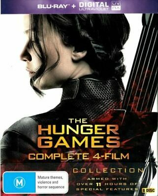 The Hunger Games: Complete 4 Film Collection - Blu-ray Region B Boxset