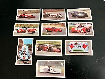 - EXC -FULL SET- AUTOSPRINT II SERIE PRINTED BACK 30 CARDS CANDY GUM ITALY
