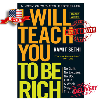 I Will Teach You to Be Rich, Second Edition by Ramit Sethi, Paperback BESTSELLER