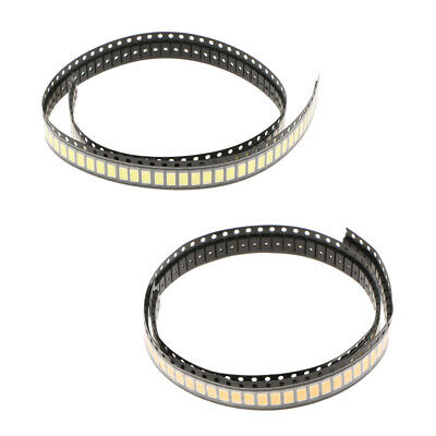 Baoblaze 200x SMD 5730 0.5W 150Ma LED Tape,Warm & Pure White each 100,3-3.2V