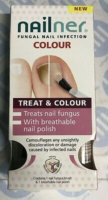 Nailner Fungal Nail Infection Treat & Colour 2 in 1 Brush & Breathable Polishnew