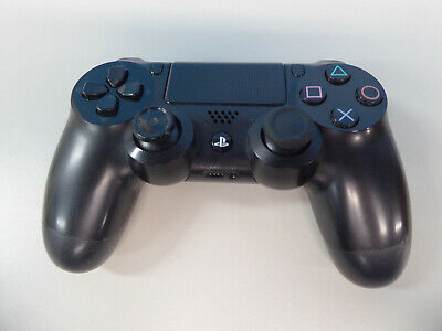 Sony Wireless Dual Shock PS4 Controller Black Grade C (no asset)