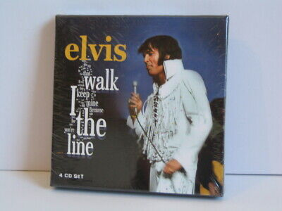 4 CD Box Elvis Presley: I Walk The Line