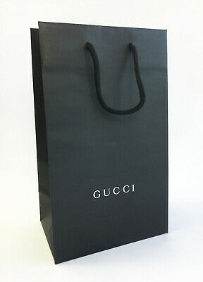 9896d04c4bb4 Empty Gucci Paper Carrier Gift Bag with Rope Cord Handles (29cm x 17cm)