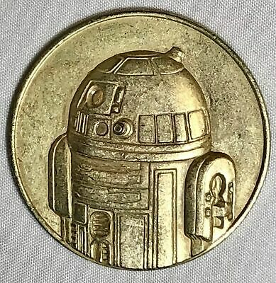 2005 California Lottery Star Wars Commemorative Rare Coin R2-D2 New