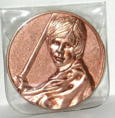 2005 California Lottery  Promo Star Wars Coin Luke Skywalker. PERFECT CONDITION