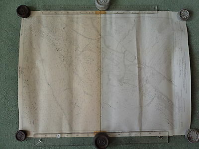 "TWO Ordnance Survey 6"" maps Argyll.1924 Loch Fyne N end. Clachan, Achadunan"